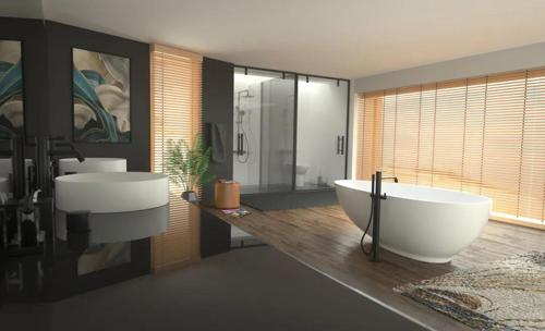 普乐美诠释卫浴整体的美,和谐意境的美学