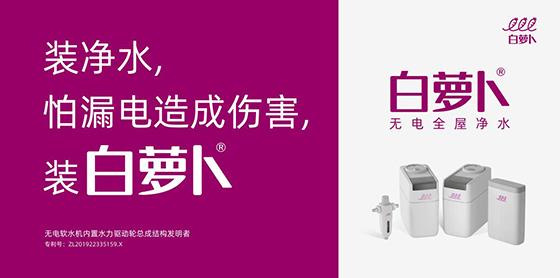 春节临近,给父母装净水器怕漏电,装白萝卜无电全屋净水