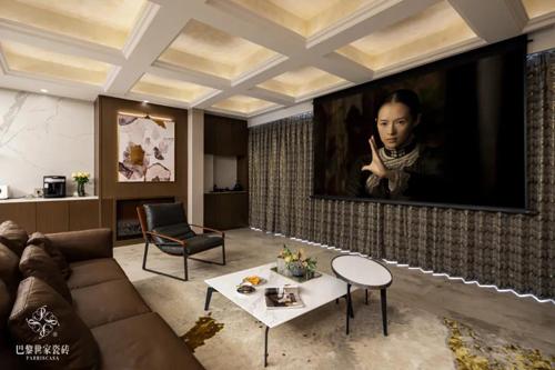 巴黎世家瓷砖现代轻奢案例:宁波镇海绿地海外滩