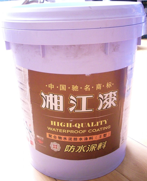 防水涂料; 供应湘江醇酸水性工业漆涂料;