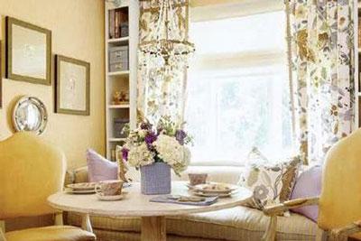什么样的飘窗窗帘最受欢迎?图片