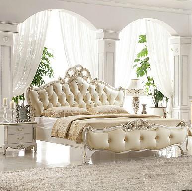 法丽莎欧式双人床