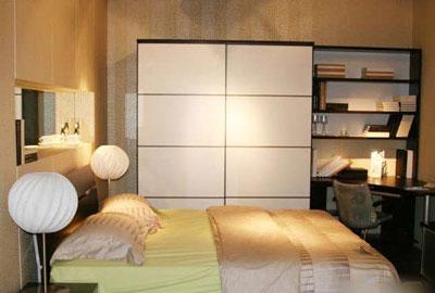 衣柜风格如何去搭配卧室风格?